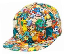 Bioworld Pokémon Todo Estampado Sublimada Snapback Cap Hat