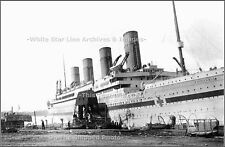 Photo: HMHS Britannic: Rare Look During Lifeboat Drill, 1916