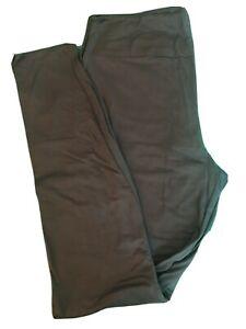 LulaRoe Leggings TC New Solid Army Green