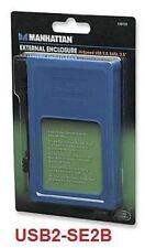 "USB 2.0 to SATA 2.5"" HD Silicone Enclosure, Blue 130110"