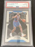 2019-20 Panini Prizm Basketball RJ Barrett PSA 10 Gem Mint #250 New York Knicks