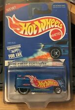 Hot Wheels 1996 First Edition Blue VW Bus w/5 Spokes #6 of 12