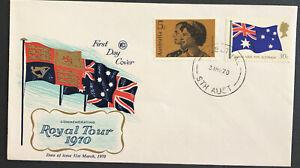 Australia * FDC WCS 1970 Comm. Royal Tour
