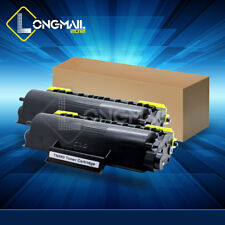 2PK Toner Cartridge for Brother DCP-8060 DCP-8065DN DCP-8080DN DCP-8085DN TN580