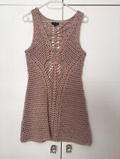 Topshop Crochet Mini Dress