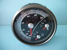 "NEW FARIA GS0061B Speedometer Fuel Volt Gauge 5 Inch 5"" MPH Speedo Boat 2102325"