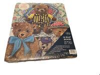 "La Vie Scrapbook Teddy Bears 60 Pages 12 x 14"" Acid Free Post Bound Binder PA944"