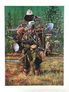"""BEST SURVIVALIST"" (1983) *Pre-MAGA POSTER* Knife Hunter ""GOT AMMO = GOT FREEDOM"