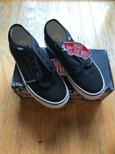 Vans Kids/ Youth Casual Shoes Black & White Lace up Sneaker Size 4