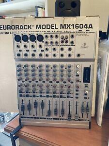 Behringer Eurorack MX1604A 16 Channel Mic/Line Mixer