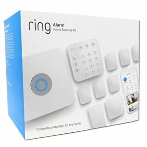 Ring 10-Piece Wireless Security Alarm Kit Smart (2nd GEN) White Security System