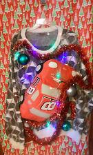 "DALE EARNHARDT JR "" UGLY "" Tacky Christmas sweater 2X-LARGE  MENS L@@K LIGHTS :)"