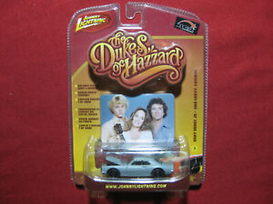 1:64 Dukes of Hazzard 1968 Gray Ghost Jr Chevy Camaro Release 2 Hazard