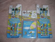Dr Seuss Oh the Places You'll Go 12 Pencil Mini Notebook Sealed Lot Mip Graduate