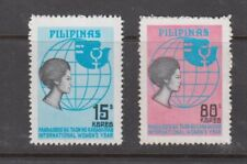 Philippine Stamps 1975 International Women's Year Perforate set MNH
