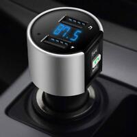 Freisprecheinrichtung Bluetooth 4.2 Car Kit FM Transmitter Radio MP3 Player USB