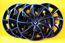 "14"" Renault Clio, Kangoo, Megane.. etc. rueda Adornos/cubiertas, Tapacubos, cantidad 4"