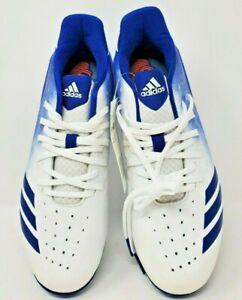 Men's Adidas Icon 4 MD Baseball Cleats - New - Multiple Sizes - Blue/White