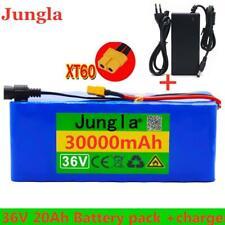 36V 30Ah Lithium li-ion Battery Pack 500W ebike Bicycle E Bike Electric charger
