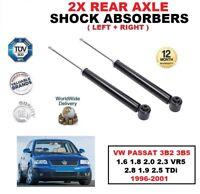 Amortiguadores Traseros Set para VW Passat 1.6 1.8 2.0 2.3 2.8 1.9 2.5 Tdi