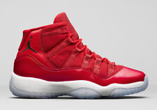 Air Jordan 11 XI Retro size 7Y 7 Red White. Win Like 96. 378038-623.