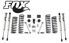 "2007-2018 Jeep Wrangler JK 3"" Full Zone Suspension Lift Kit w/Fox 2.0 Shocks JKU"