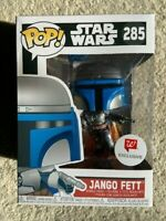 Jango Fett 285 Star Wars Walmart Funko Pop Vinyl New in Mint Box + Protector