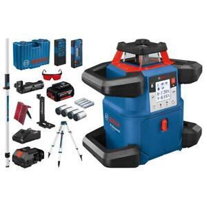 Bosch Rotationslaser GRL 600 CHV Professional inkl. BT170  GR240 Akku Ladegerät