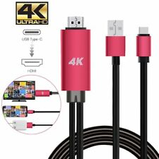 USB C Type-C to HDMI 4K Cable HDTV TV Digital AV Adapter for Android Samsung LG
