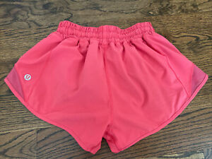 Lululemon Run Hotty Hot Shorts Pink Sz. 2  Reg  2.5""
