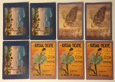 LOT 8 Vintage Original Verkerke Card Lithograph Card Printed in Holland / 1960