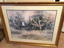 Margaret  Hoybach, Watercolor Limited Edition Print Numbered/Signed - Very Nice