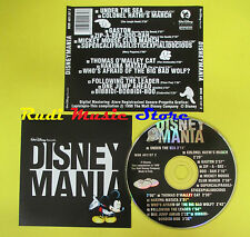 CD DISNEY MANIA compilation 1998 (C3) no mc lp vhs dvd