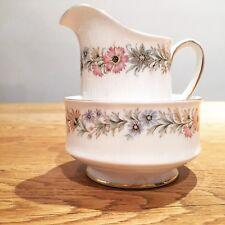 Vintage Paragon China Sugar Bowl And Milk Jug In Belinda Pattern