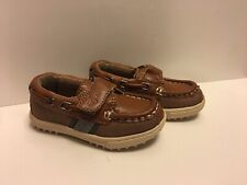 Cole Haan 'Lil Cail' Tan Leather Loafers Boat/Dress Shoe Little Boy/Toddler 5