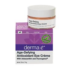 Derma E Age Defying Antioxidant Eye Creme 0.5 oz NIB w/ Astaxanthin & Pycnogenol