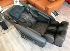 OSAKI 7200H Pinnacle Quad Roller Massage Chair Zero Gravity Recliner Heat Brown