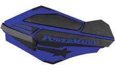 Powermadd Yamaha Blue Sentinel Handguards w/ ATV MX Mount Kit 34404 34452