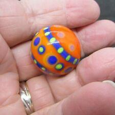 "Unsigned Art Glass Marble - 1.17"" diameter (30.0 mm)   (148)"