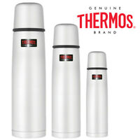 Thermos Light and Compact Stainless Steel Food Drink Flask Stainless Steel