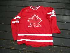 Vintage TEAM CANADA 2010 OLYMPIC Hockey Jersey Lg by Nike