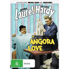 Laurel and Hardy in Angora Love Dvd ( Free Post Brand New)