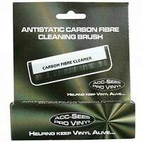 Acc-Sees Antistatic Carbon Fibre Vinyl Record Cleaning Brush *NEW*