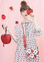 CATH KIDSTON x Disney Snow White Apple Spot Crepe Shirt Dress, Size 10UK