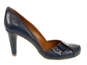 """Harlot Schuhe Pumps """"Kriss"""" blau Gr. 36 - fällt aus wie Gr. 37!!! Neu"""