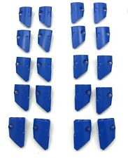 Lego 20 New Blue Technic Panel Fairing # 1 Small Smooth Short 10 Left 10 Right