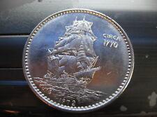 sailing ship circa 1770 1972 poseidon Mardi Gras Doubloon Coin new orleans