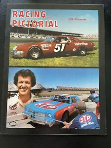 Racing Pictorial Magazine 1979-1980 Annual A.J. Foyt/Richard Petty Cover