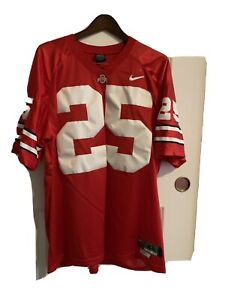 Ohio State Buckeyes XL Jersey Sewn Numbers