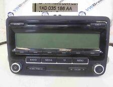 Volkswagen Golf MK6 2009-2012 Cd Player Radio Head Unit 1K0035186AA